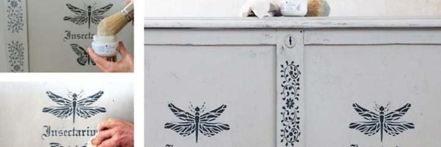 Como usar cera sobre Chalk Paint