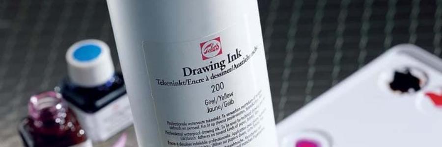 Drawing Ink & Indian Ink, as tintas da Talens