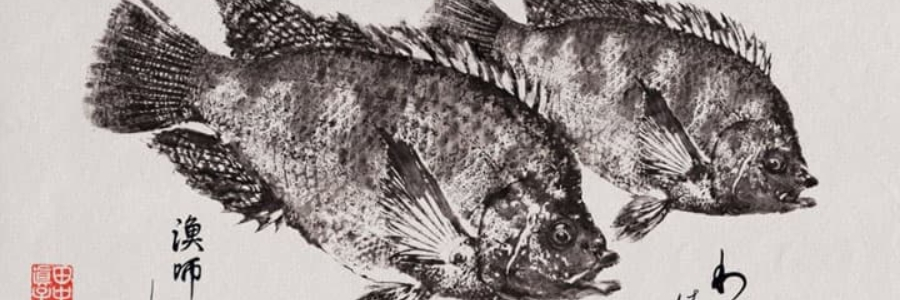 Gyotaku, a arte de imprimir peixes