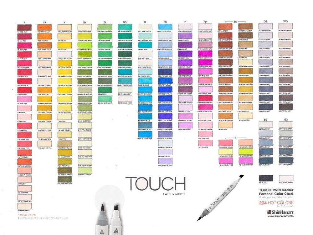 Como Usar Os Novos Twin Marker Touch Tutoriais Arte Totenart