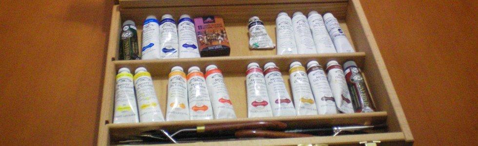 Caixas vazias para óleo