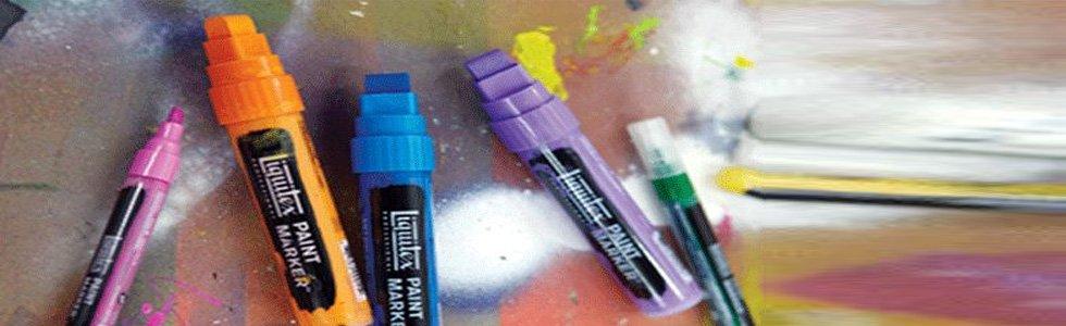 Marcadores acrílico Paint Marker Liquitex