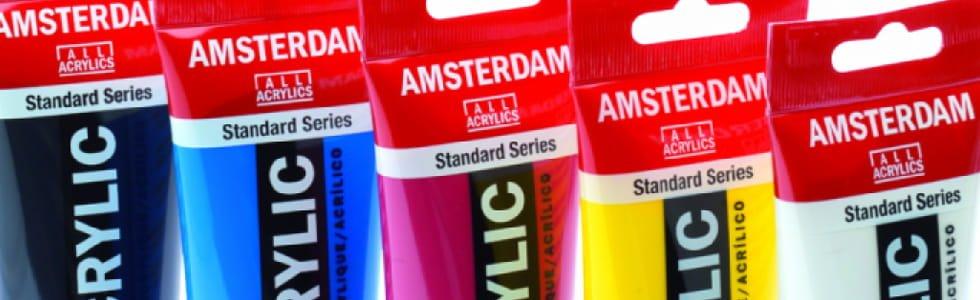 Pinturas acrílicas Amsterdam