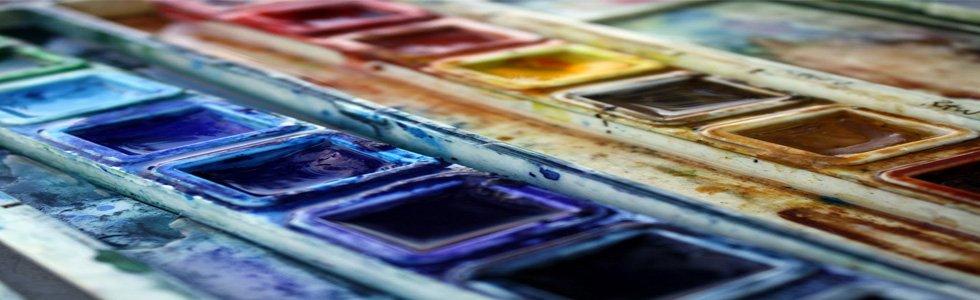 Estojo de aquarelas
