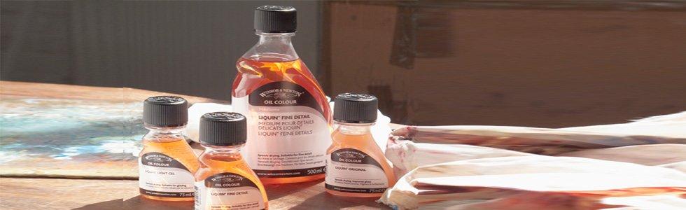 Médiuns para Pintura a óleo