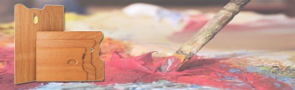 Paletes para tinta acrílica