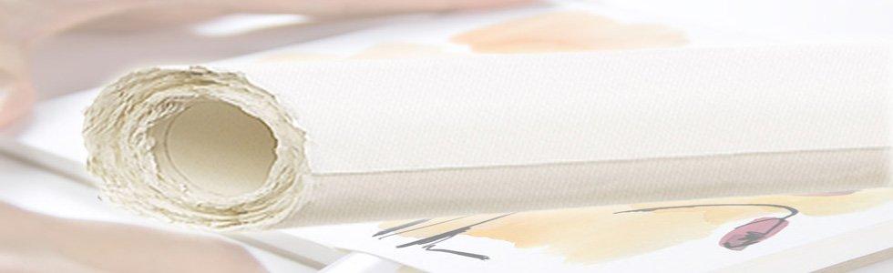 Rolos de papel para aquarela