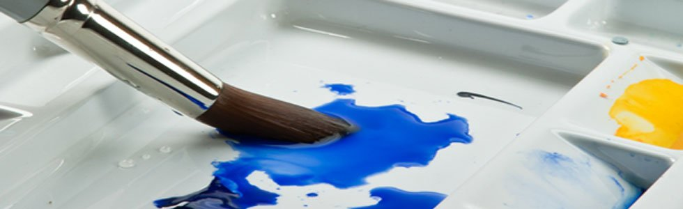 Escovas de aquarela