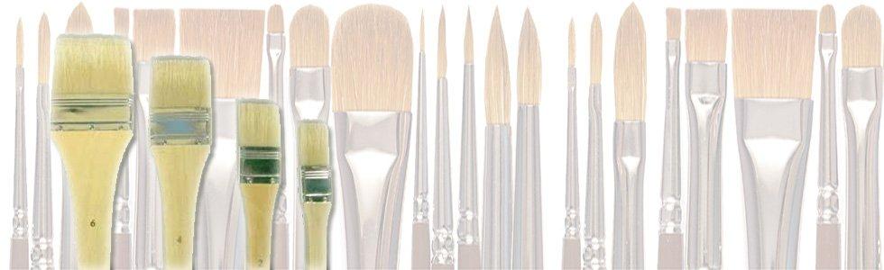 Escovas paleta para acrílico