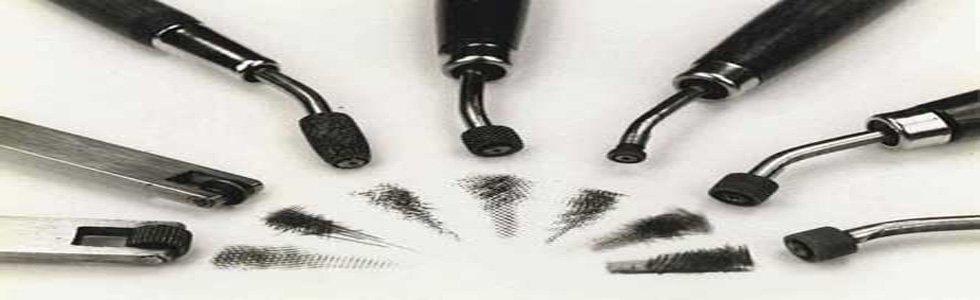 Roleta Gravado calcográfica