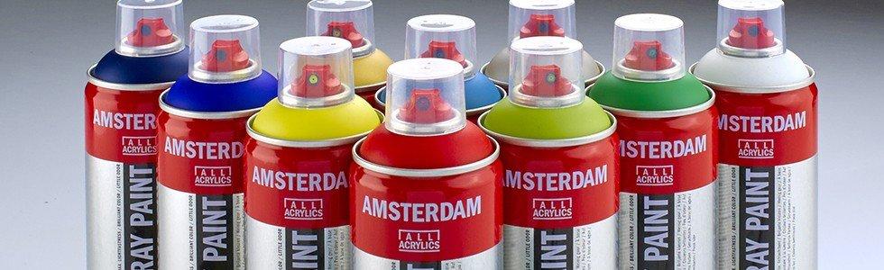 Spray de cor acrílico Amsterdam