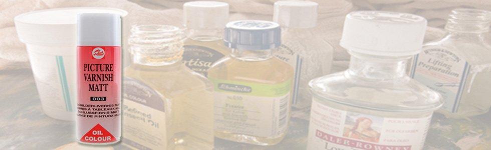 Vernizes para óleo