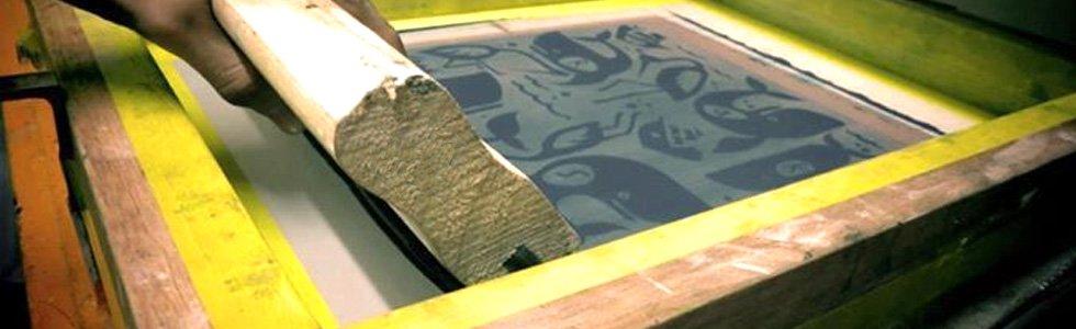 Serigrafia - Tintas e ferramentas