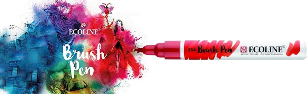 Marcadores Aquarela Ecoline Brush Pen