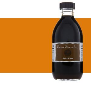 Tinta Desenho Laranja 641, 250 ml. Sennelier