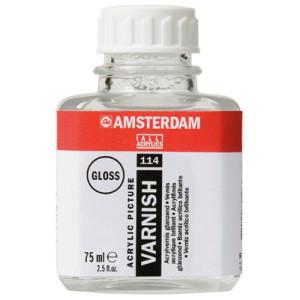 totenart-Barniz acrilico brillante Amsterdam Talens, 75 ml.
