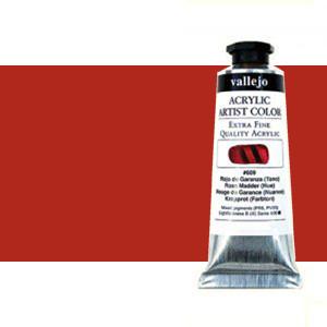 Acrilico Vallejo Vermelhão (Tom),  60 ml.
