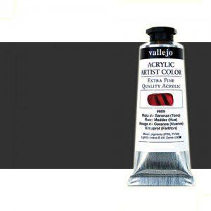 Acrilico Vallejo Artist Cinza Escuro, 60 ml.
