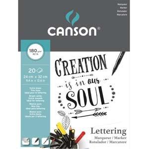 Bloco Imagine Canson, 24x32 cm, 180 gr, 20 f.
