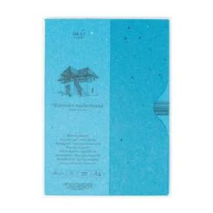 Bloco de aquarela en estojo, 35 folhas, 280 gr., A4, SM.LT