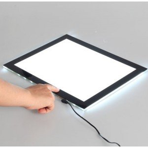 totenart-Pantalla de luz LED A3 ArtCreation