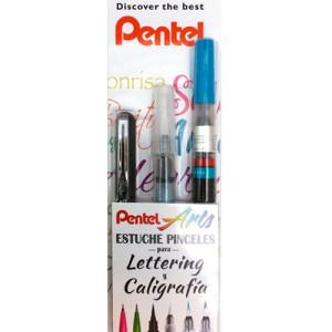 Set  caligrafia belas artes Pentel