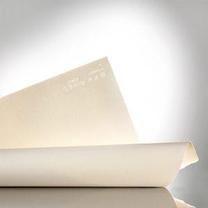 Papel em rolo para gravação Arches BFK Rives 300 gr., 106,7x914 cm., Branco, Fino Gr.