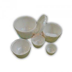 totenart- Set 5 pocillos plastico, 3 a 7 cm.