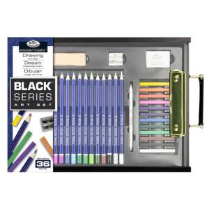 Conjunto de desenho Sketching Black Series (36 peças), Royal&Langnickel