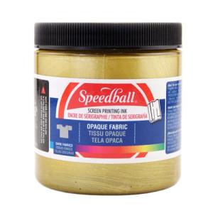 Tinta Serigrafia a agua Ouro 236 ml. Speedball
