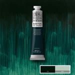 Oleo Winton W&N,  Escuro Verde Fthalo, 200 ml.