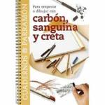 Caderno para comecar a pintar com carvao e Creta, Parramón, em E
