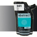 Aqrilico Sennelier Abstract Iridescente Preto 070, 120 ml.