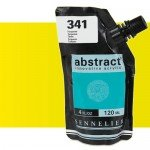 Aqrilico Sennelier Abstract Amarelo Fluorescente 502, 120 ml.