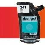 Aqrilico Sennelier Abstract Vermelho Fluorescente 604, 120 ml.