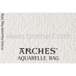 Infinity Arches Aquarelle Rag, 240 gr., A4, caixa 10 uds.