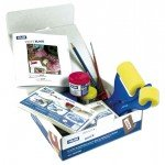 Milan Kit Print Block com manual.