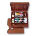 Acrilico Van Gogh, caixa de madeira Inspiration