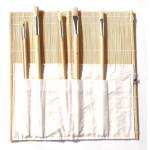 Portapinceis Bambu, 40x40 cm.
