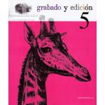 Revista Gravura e edicao, n. 05, em Espanhol.