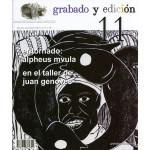 Revista Gravura e edicao, n. 11, em Espanhol.