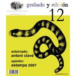 Revista Gravura e edicao, n. 12, em Espanhol.