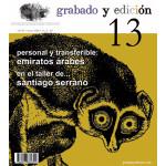 Revista Gravura e edicao, n. 13, em Espanhol.