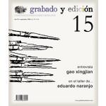 Revista Gravura e edicao, n. 15, em Espanhol.