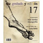 Revista Gravura e edicao, n. 17, em Espanhol.