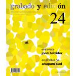 Revista Gravura e edicao, n. 24, em Espanhol.