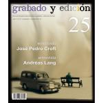 Revista Gravura e edicao, n. 25, em Espanhol.