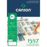 1557 Canson (Bloco colagem), 30 f., 180 gr., 21x29.7 cm.