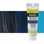 Acrilico Liquitex Turquesa Escuro Heavy Body, 59 ml.