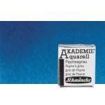 Aquarela Schmincke Akademie,  Azul da Prussia 445, 1/2Godet.